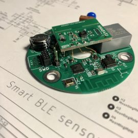Deska chytrého senzoru
