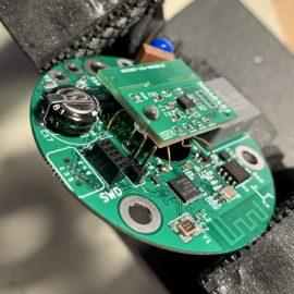 Deska plošných spojů senzoru