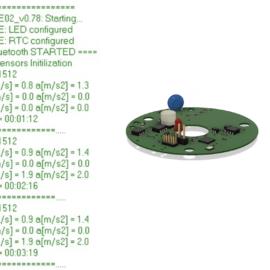 Výpis měření senzoru