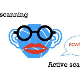 Ilustrace BLE skenování