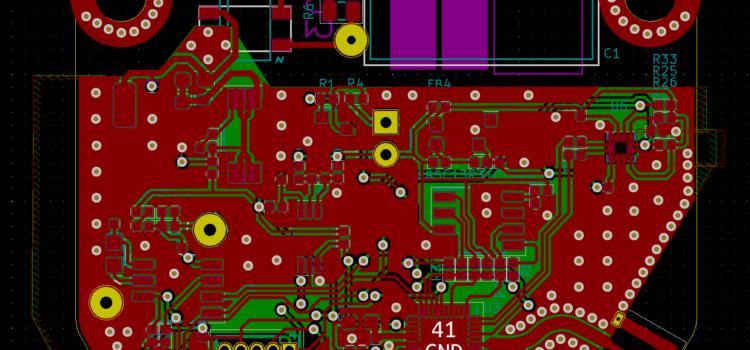 Návrh DPS pro chytrý senzor