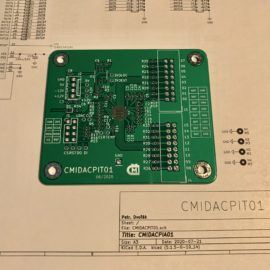 Deska pro DAC kit
