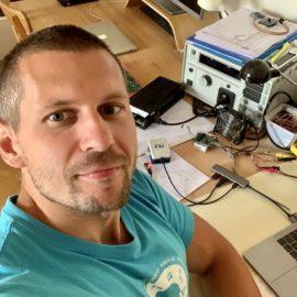 Selfie v laboratoři