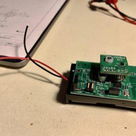 Modul senzoru s bateriemi