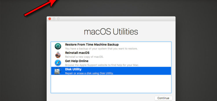 Recovery mod macOS