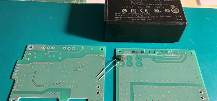 Osazování součástek na desku plošných spojů