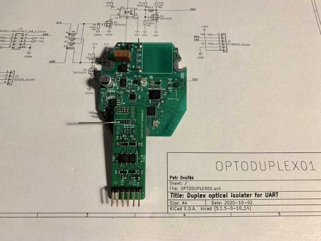 Optoduplex02 ve finální aplikaci