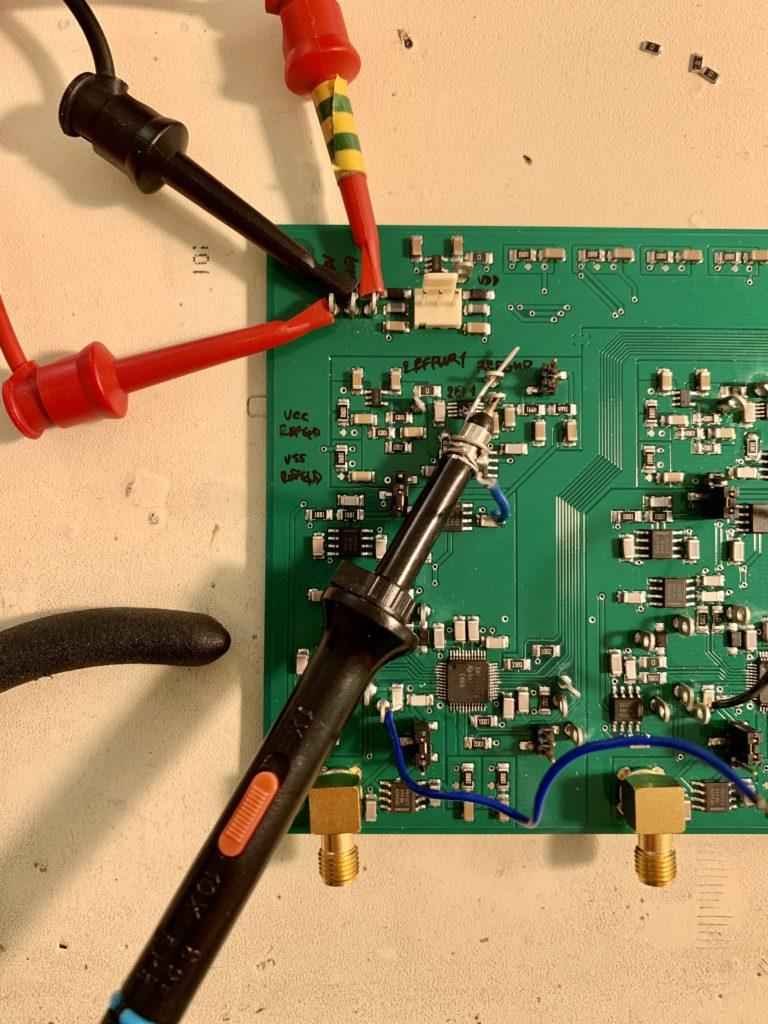 Měření šumu osciloskopem