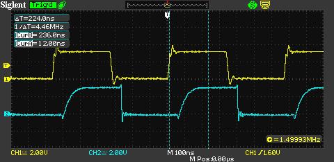 Průběh signálů na Optoduplex02