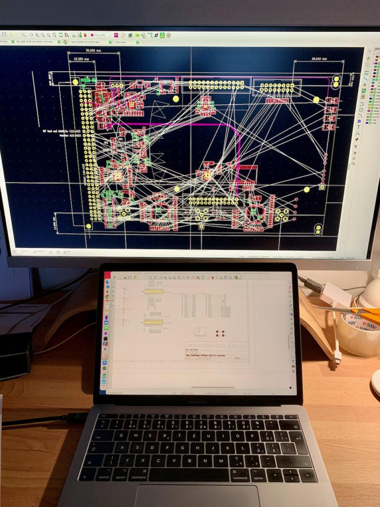 Práce s monitorem