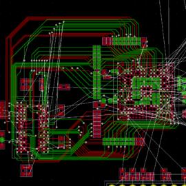 Rozpracovaná deska plošných spojů
