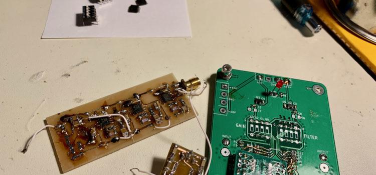 Desky k získání součástek