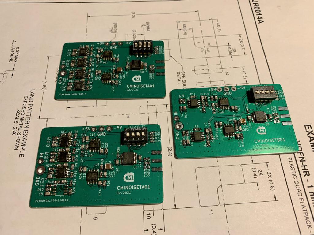 Osazené moduly zesilovačů