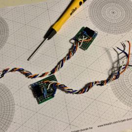 Hotové vzorky optického senzoru