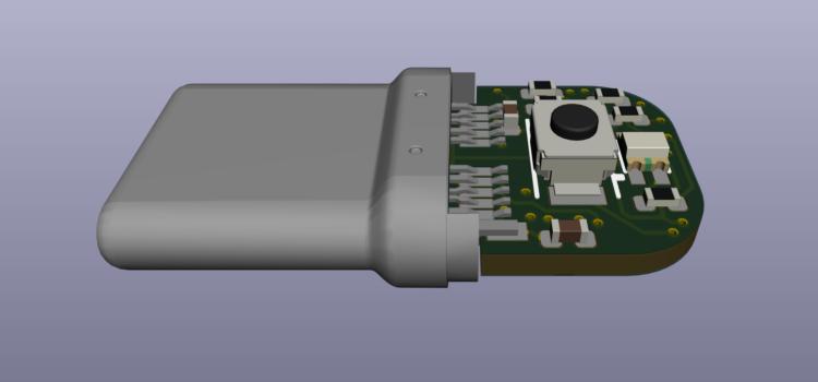 Nový návrh desky USBtag