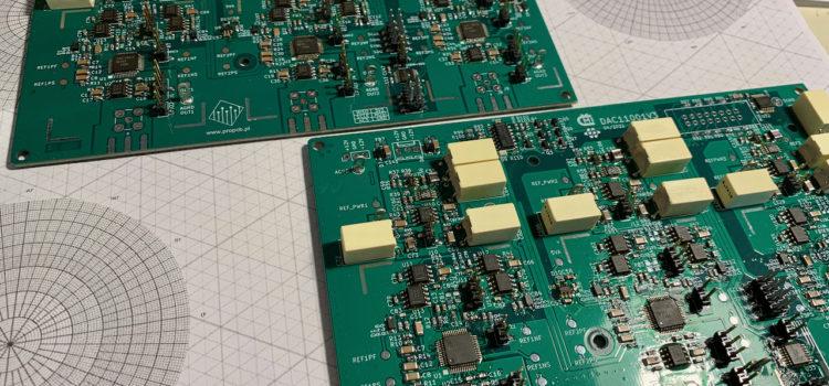 Osazené desky s DAC11001