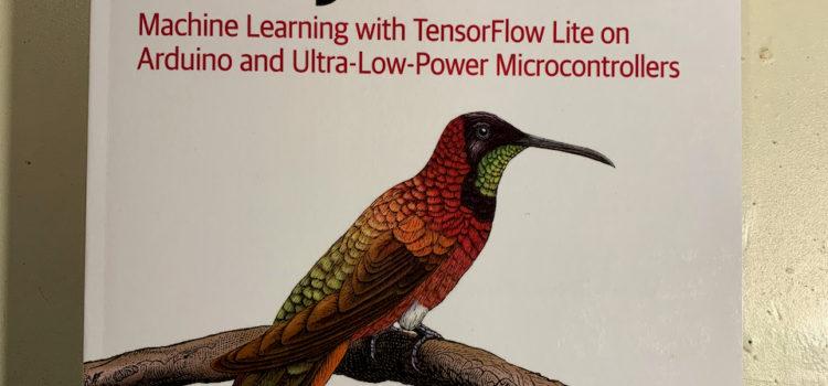 Obálka knihy TinyML