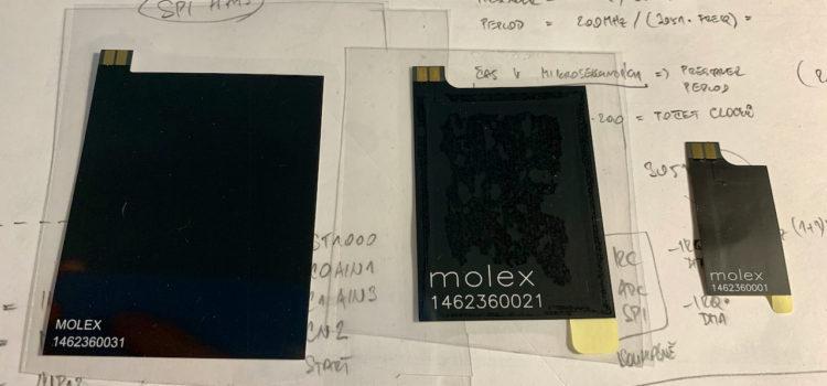 NFC měřicí antény