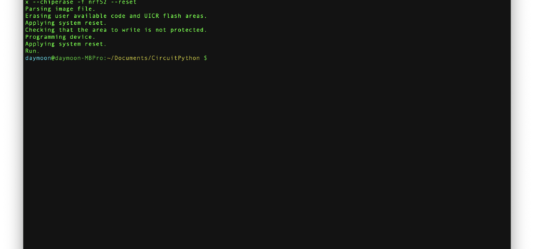Postup nahrávání bootloaderu